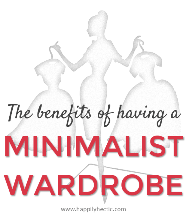 benefits minimalist wardrobe