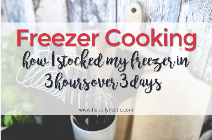 mini freezer cooking