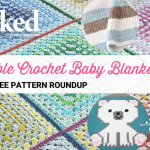 10 Super Cute Free And Pretty Easy Crochet Baby Blanket Patterns