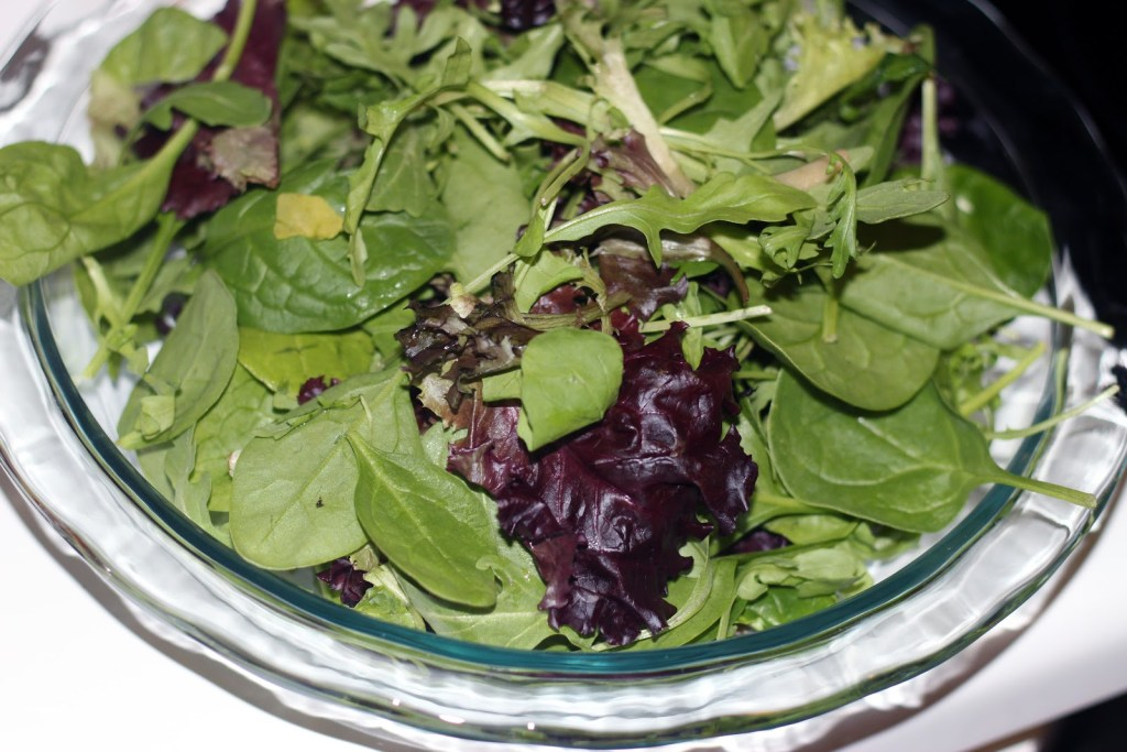 Clementine Salad Recipe by Atlanta lifestyle blogger Happily Hughes