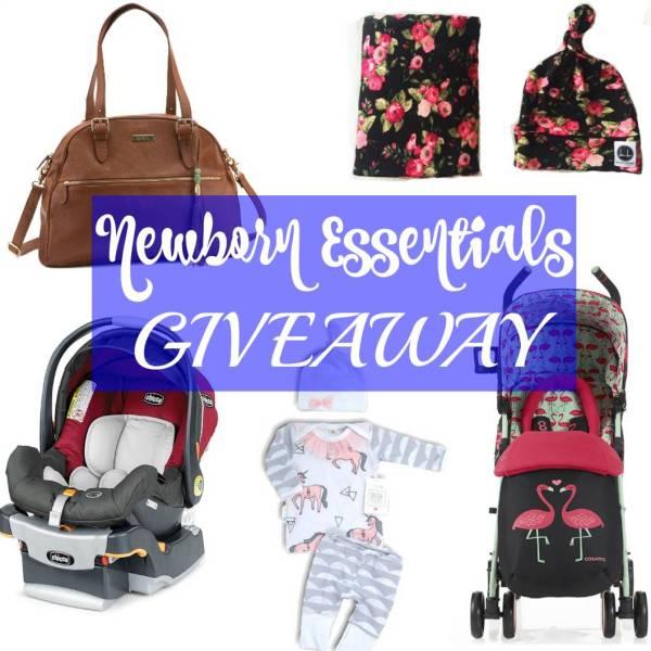 newborn essentials giveaway