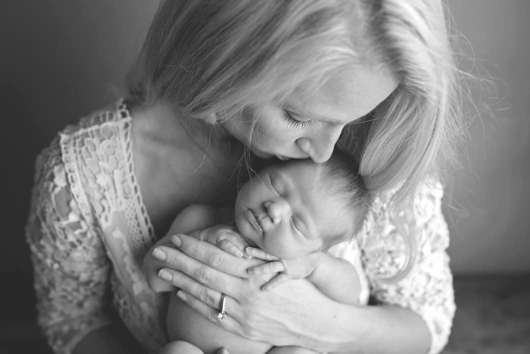 Newborn Photography Mom and Baby Atlanta Georgia