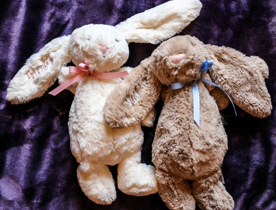 Toddler and Baby Easter Gifts with Peekawho