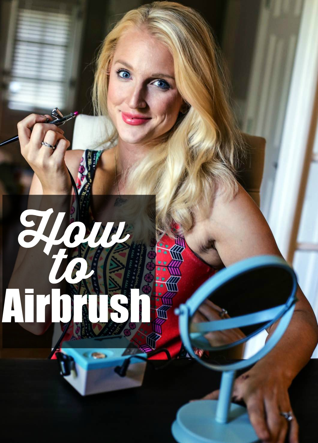 How to Airbrush Makeup with Luminess Air