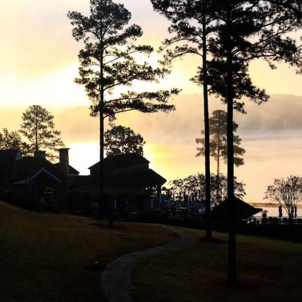 Morning Sunrise Lake Oconee Reynolds Plantation