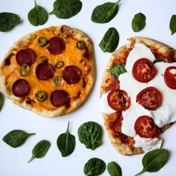 Delicious Homemade Pizzas