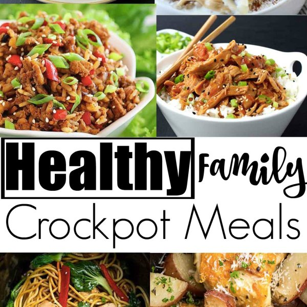 Healthy Family Crockpot Meals