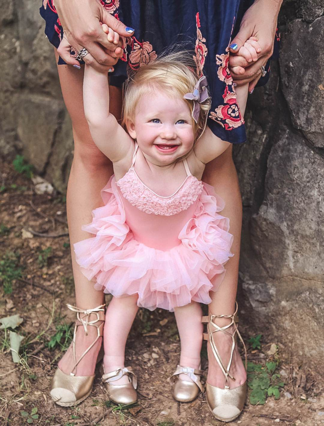 Mother and Daughter Summer Matching Shoes with Zappos by Atlanta blogger Happily Hughes