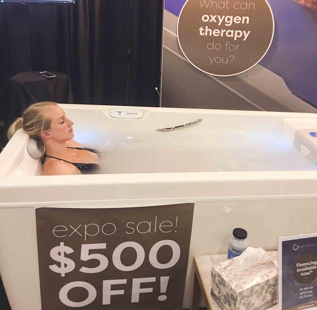 oxygen beauty spa - My Oxygen Spa Experience by Atlanta fitness blogger Happily Hughes