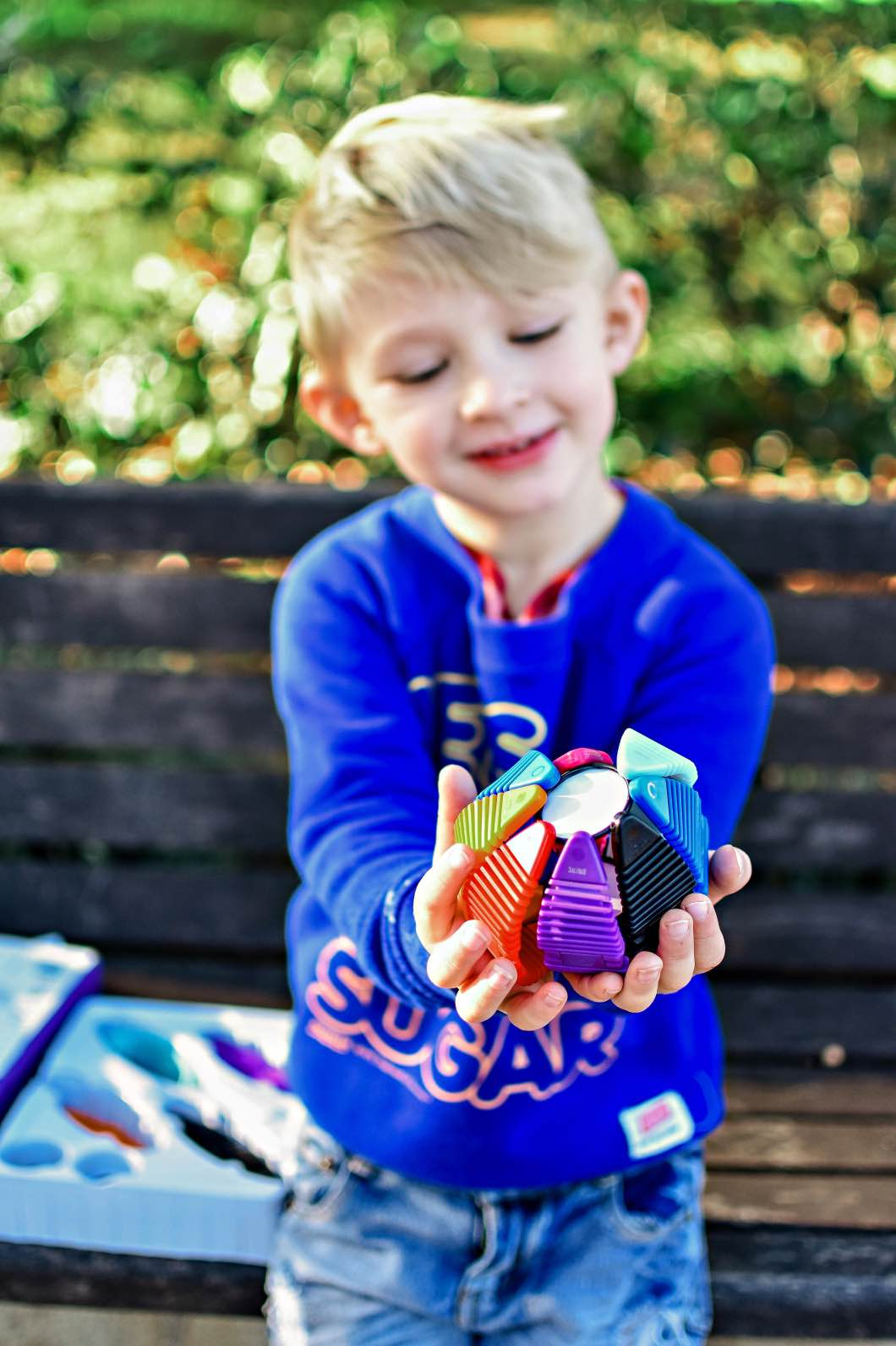 the educational christmas toy - The Best Educational Toys with WowWee Magnaflex by Atlanta mom blogger Happily Hughes