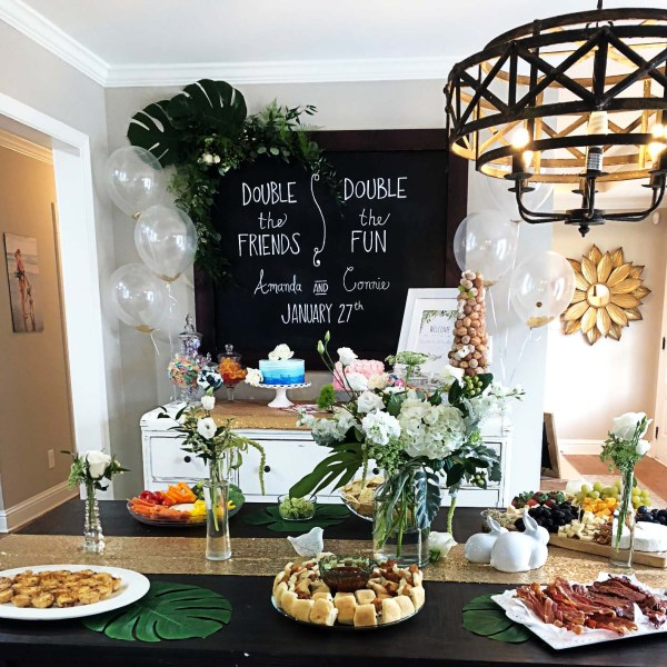 Garden Party Baby Shower by popular Atlanta lifestyle blogger Happily Hughes