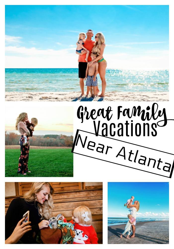 Looking for the perfect family vacation around atlanta? Popular Atlanta Blogger Happily Hughes is sharing her favorite family vacation around atlanta here!