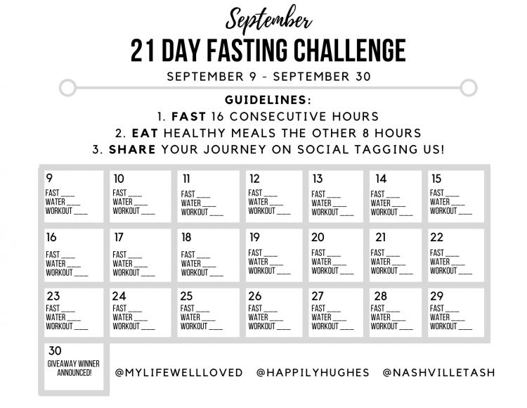 Curious about Intermittent Fasting? Popular Atlanta blogger Happily Hughes is sharing an awesome 21 day Intermittent Fasting Challenge. Join it here!