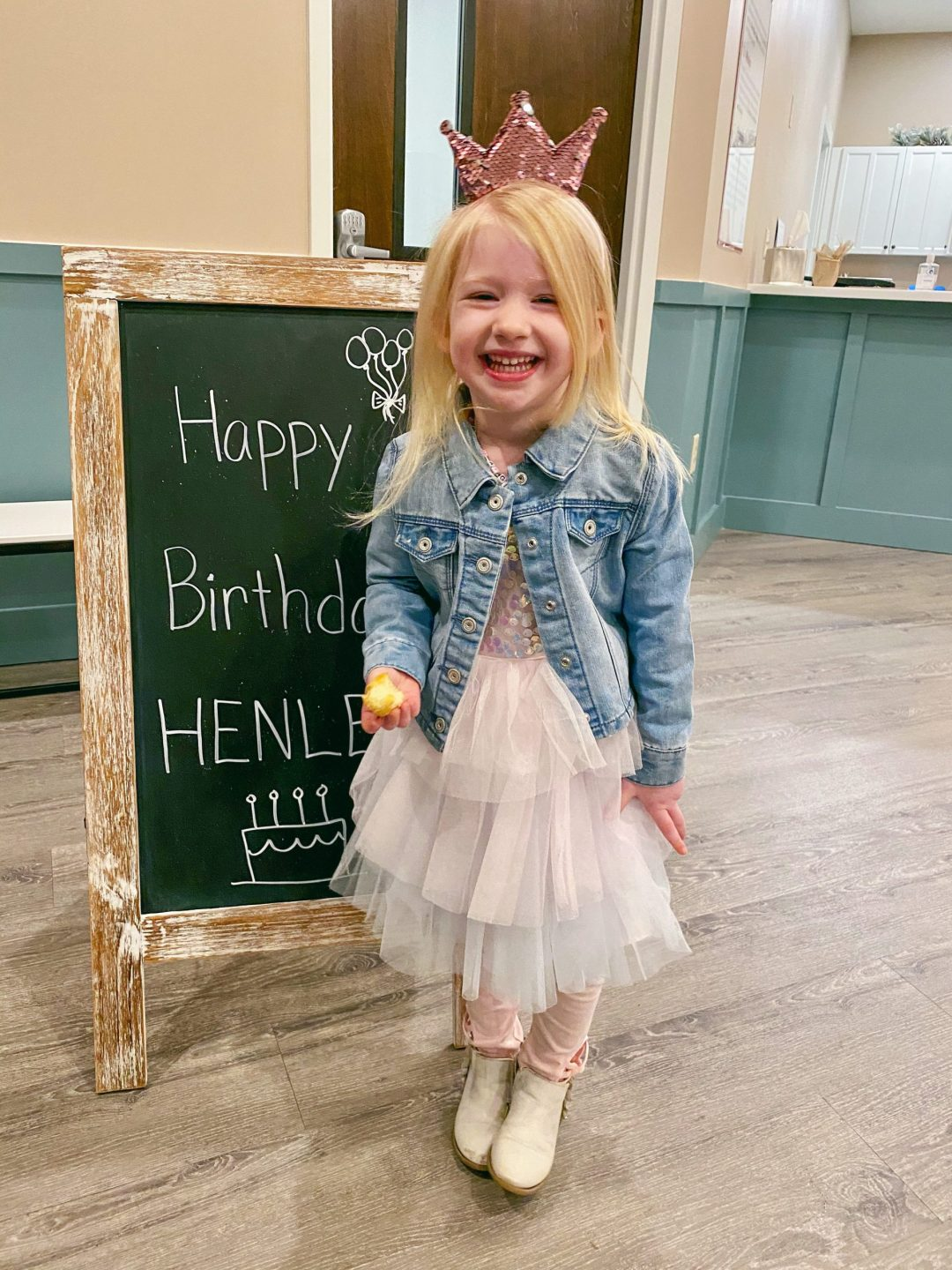A Letter to My Daughter - Popular Atlanta lifestyle blogger Happily Hughes shares her thoughts and feelings as her daughter turns 4. Click here now to read more!