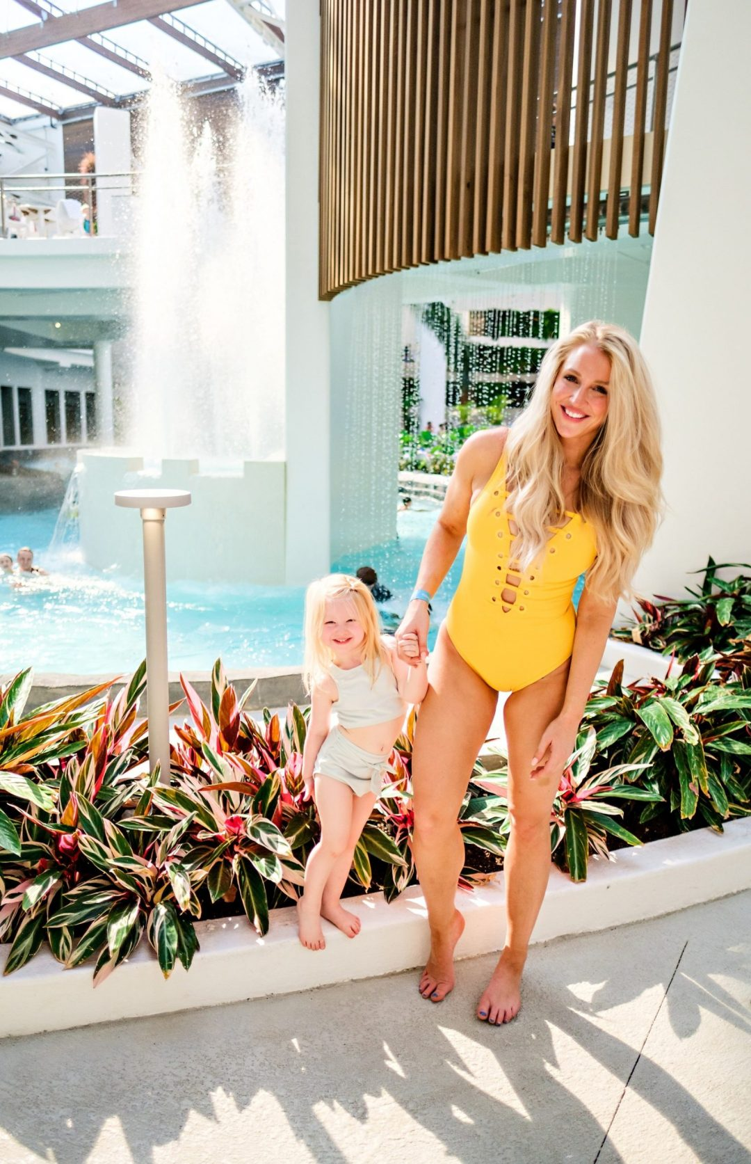 Need a full coverage bathing suit? Popular Atlanta Blogger Happily Hughes is sharing her top favorite full coverage bathing suits. Click to see them HERE!