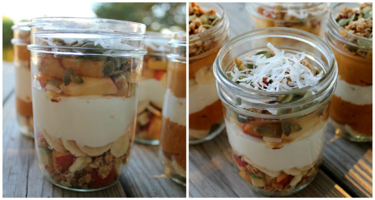 Try these Apple Cinnamon Yogurt Parfaits! They are perfect for breakfast. | read more at happilythehicks.com