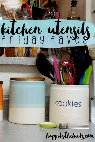 My Favorite Kitchen Utensils | read more at happilythehicks.com