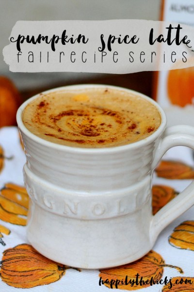 Pumpkin Spice Latte - Fall Recipe Series | read more at happilythehicks.com