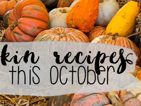 Pumpkin Recipes to Try this October | read more at happilythehicks.com