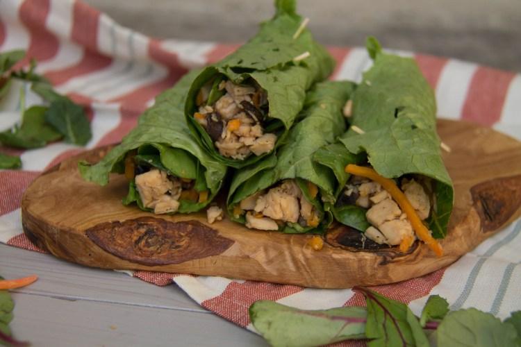 Chicken Lettuce Wrap- Light & Fresh Recipe Series   read more at happilythehicks.com