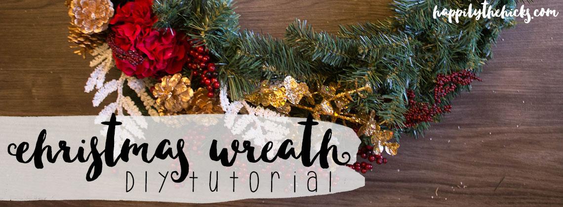Christmas Wreath DIY Tutorial