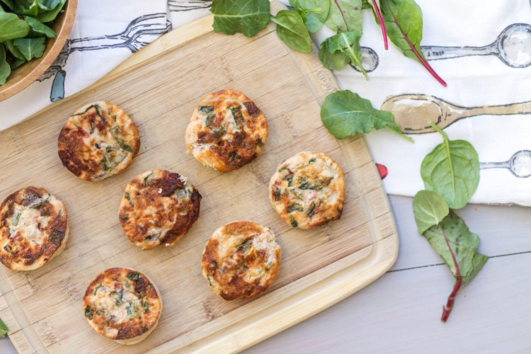 Veggie Egg Bites - The perfect breakfast, full of veggies and protein that your body will love!   read more at happilythehicks.com