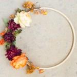 Fall Hoop Wreath DIY