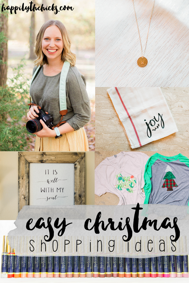 Easy Christmas Shopping ideas! | read more at happilythehicks.com