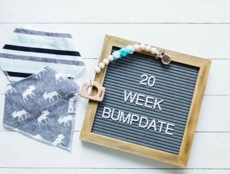20 week bumpdate! | read more at happilythehicks.com