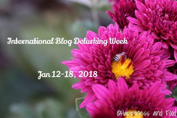 International Blog Delurking Week - 2018