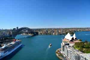 Circular Quay from above