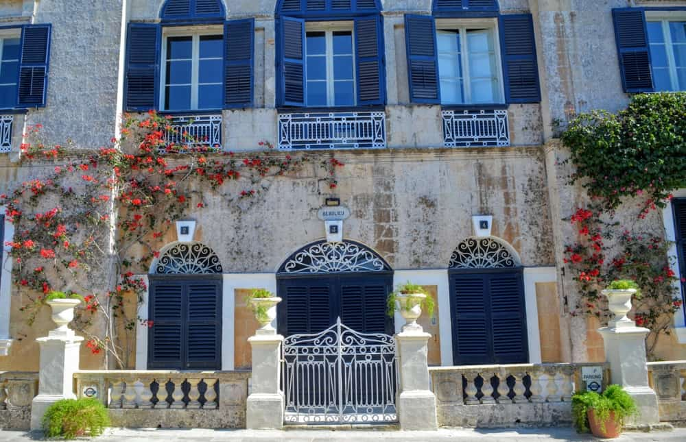 A house front in Mdina