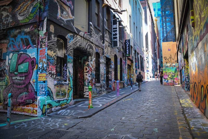 A self-guided tour of Melbourne's laneways
