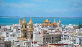 A view of Cadiz from above