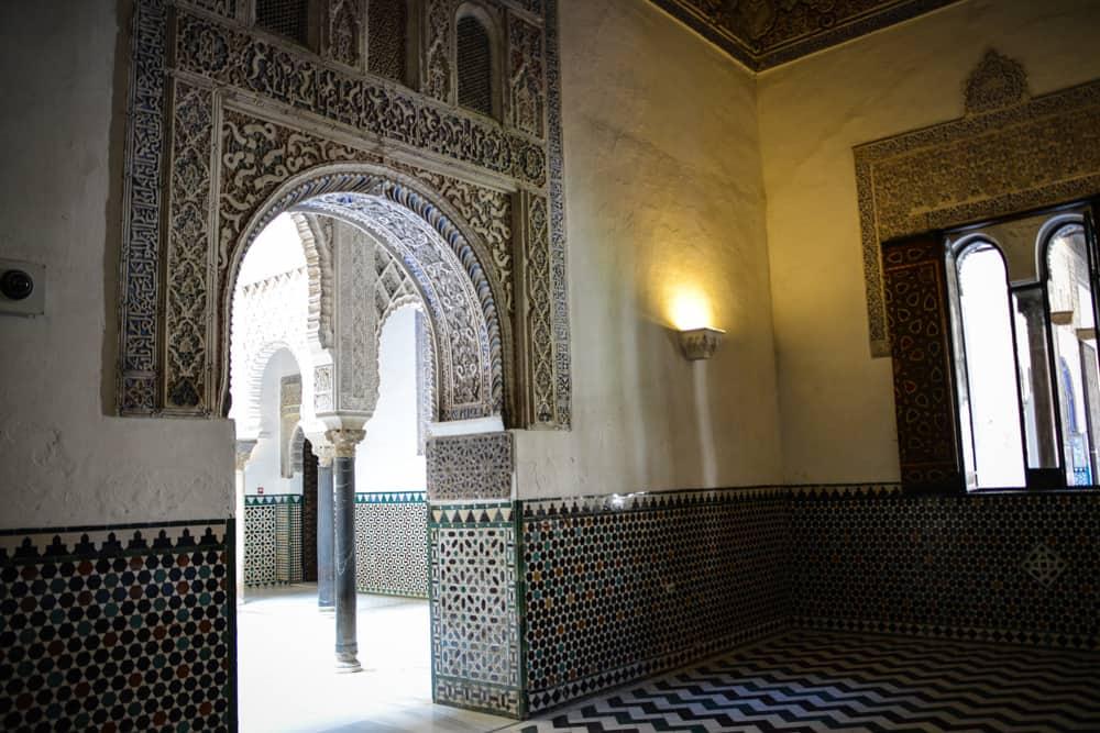 Walking in these rooms it feels like walking in an Arab palace.