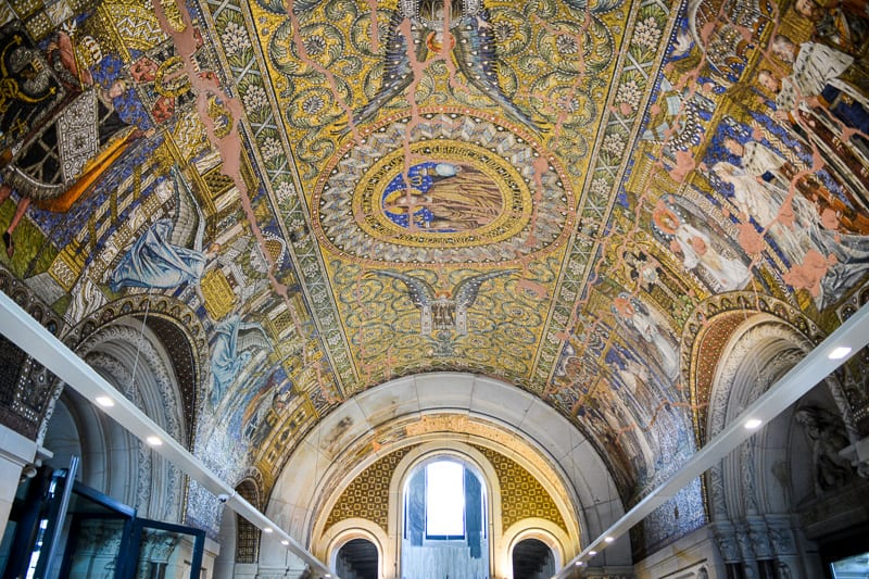 Inside Kaiser Wilhelm Memorial Church