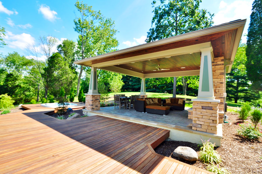 The Benefits of Outdoor Living Spaces - Happiness Creativity on Garden Living Space id=64119