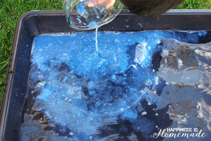 Adding Recycled Paper Pulp to Water for Papermaking