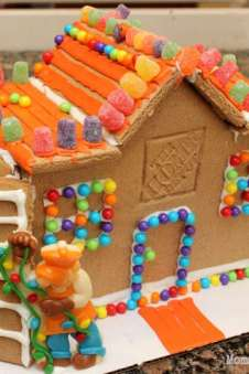 How To Make Graham Cracker Gingerbread Houses Happiness Is