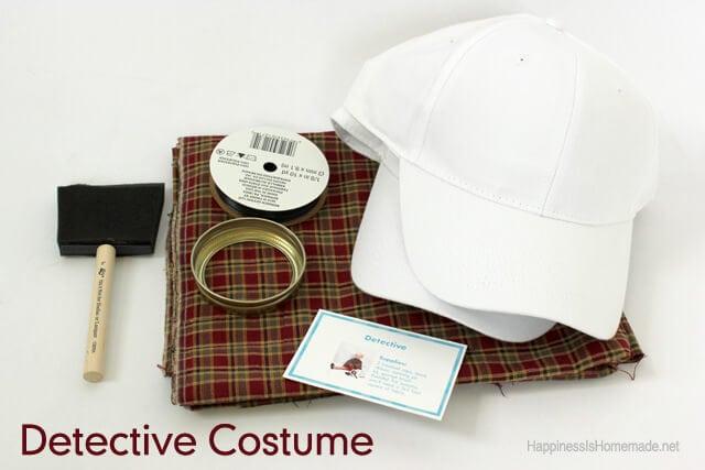 Detective Costume Supplies
