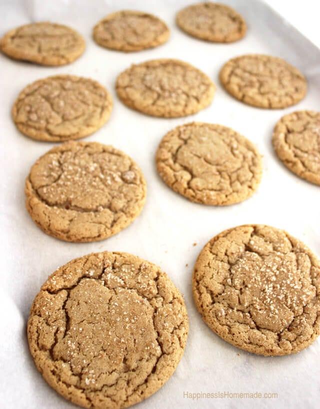 Brown Butter Maple Brown Sugar Cookies