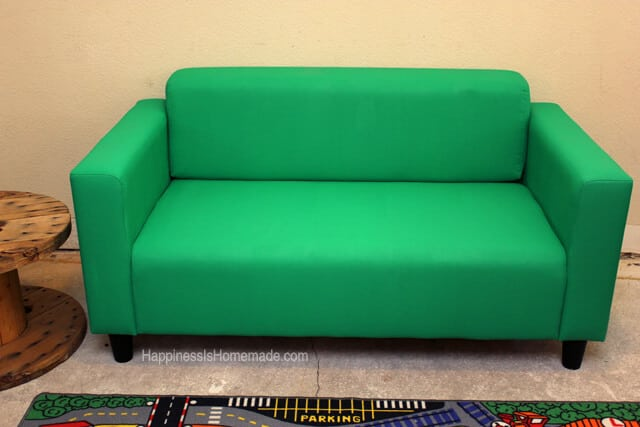 Painted Ikea Couch