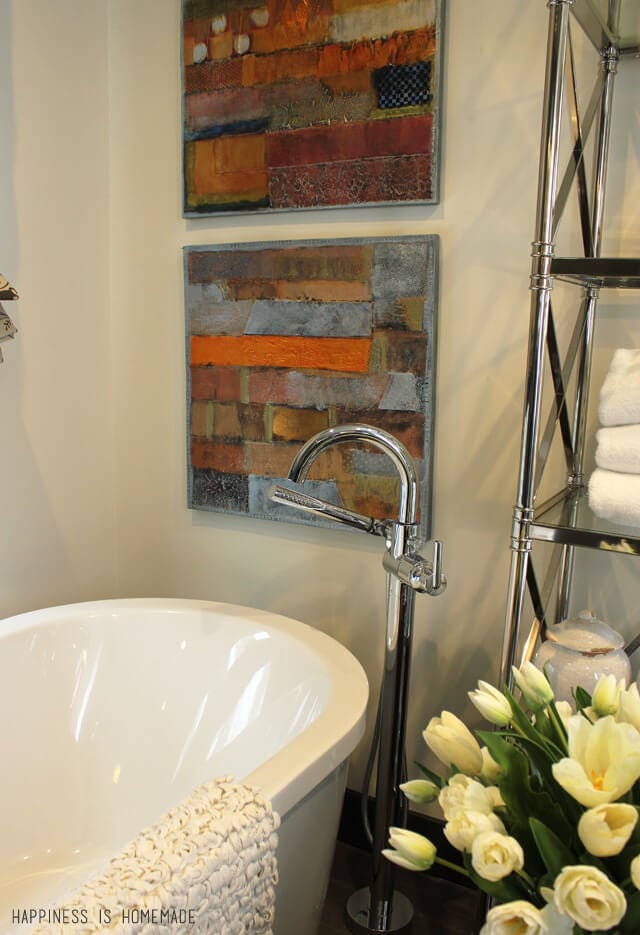 Delta Tub Filler Faucet at the 2014 HGTV Dream Home