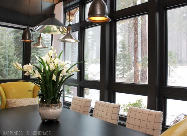 Dining Room Windows at the 2014 HGTV Dream Home