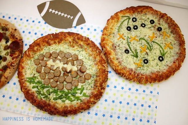 Football Themed Pizza Toppings