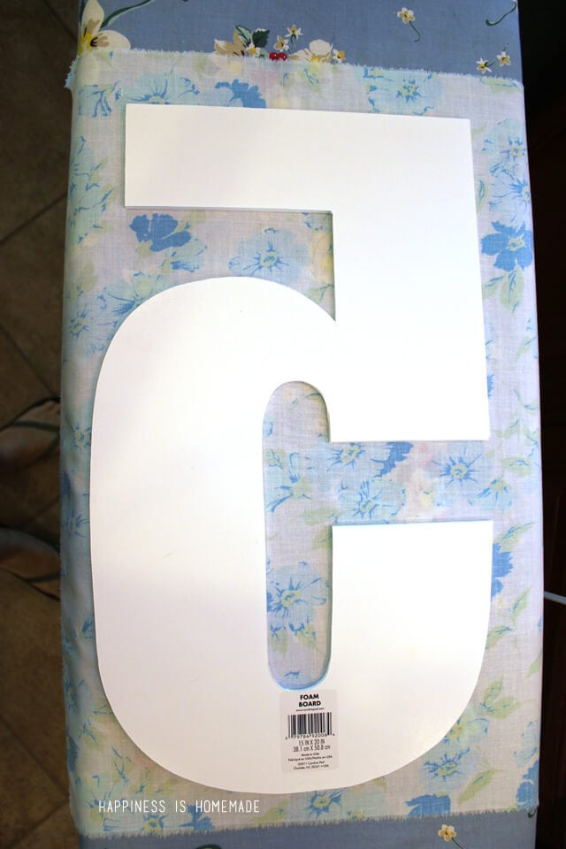 How to Make a Decorative Vintage Sheet Number Tutorial