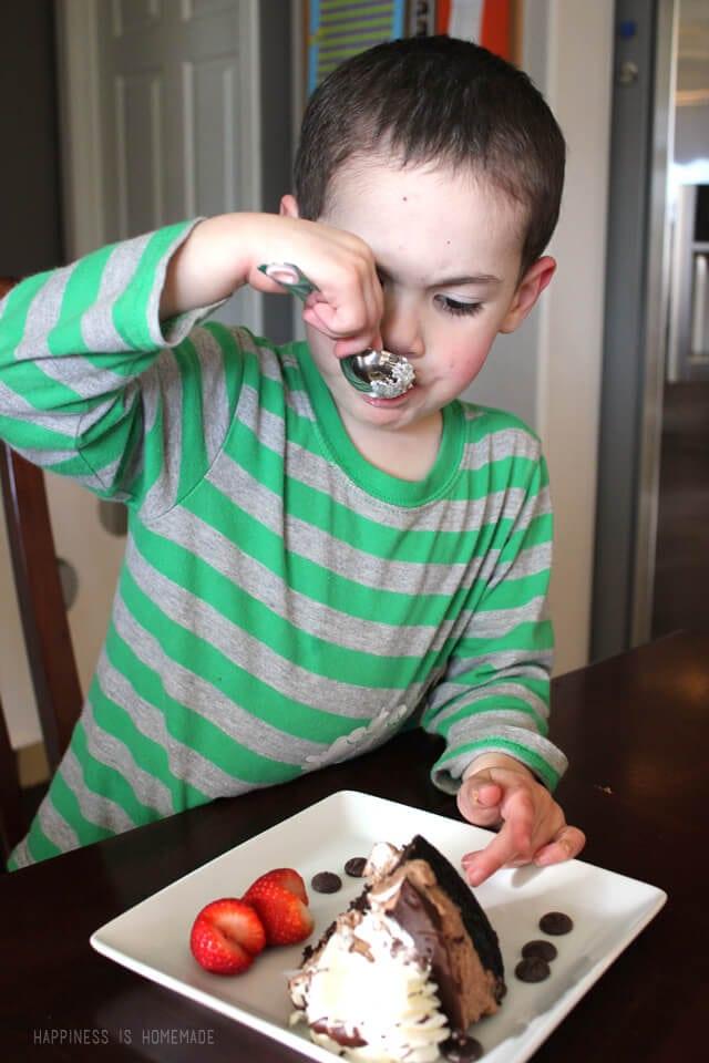 Ghirardelli Chocolate Mousse Cake
