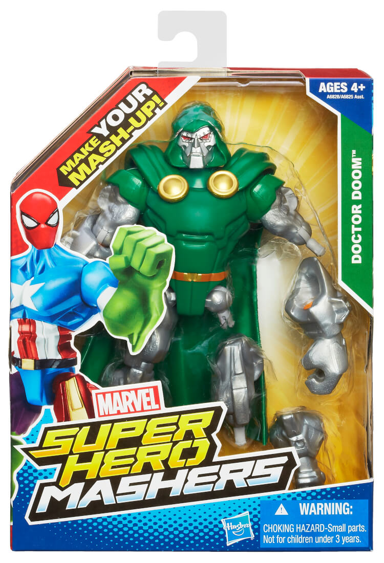 Review Marvel Super Hero Mashers Action Figures