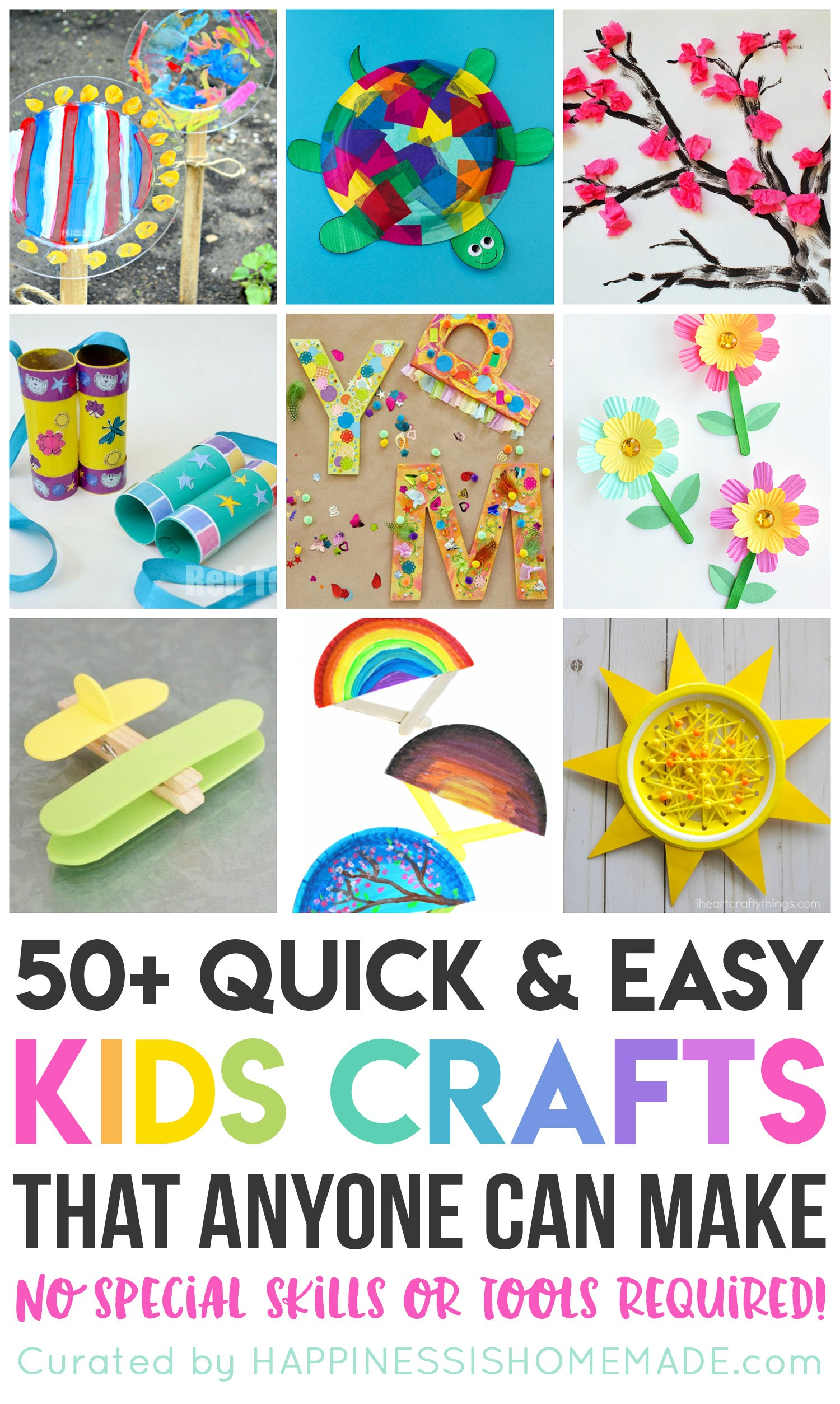 50 Quick Amp Easy Kids Crafts That Anyone Can Make