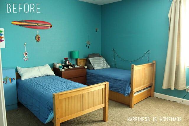 Boys Bedroom Before